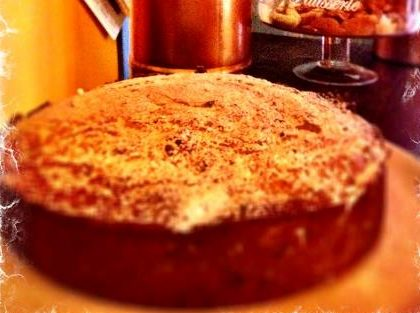 Torta sbriciolona con ricotta e cioccolato fondente